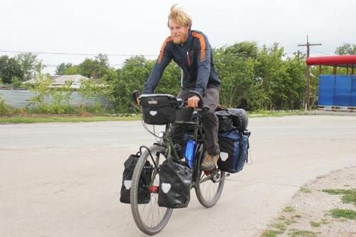 Уроженец Лейпцига посетил… Лейпциг. Колеся по свету, немецкий велосипедист заехал на «родину»