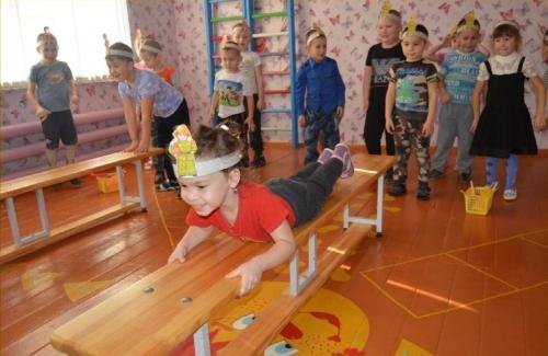 «Чебурашки» из детсада села Городище вновь прошли инструктаж. На этот раз – по пожарной безопасности