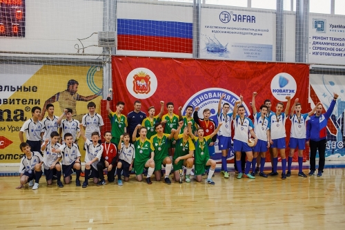 Футболисты Варны стали бронзовыми призёрами Кубка «НОВАТЭК». И теперь отправятся на всероссийский финал в Москву
