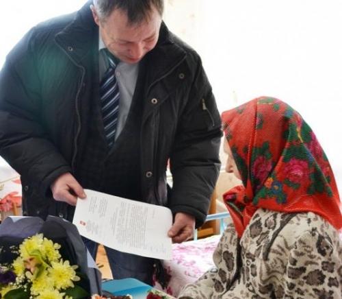 Деньги на жилье. Жилищный сертификат на миллион с лишним получила вдова ветерана войны из Варненского района