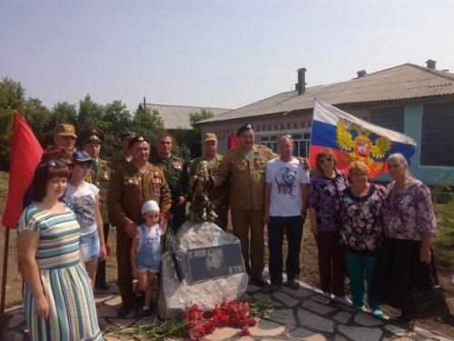 Тропинка памяти. Мемориал «Воинам Афгана и Чечни» в посёлке Солнце открыли в… детском саду