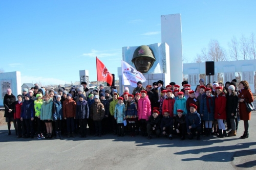 В память о подвиге пограничников. Варненский район принял «Эстафету Победы»