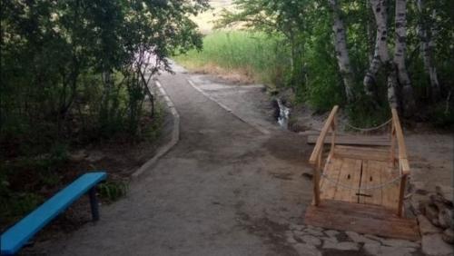 Живи, родник, живи! Возле села Владимировка возрождают источник в честь Табынской иконы Божией Матери